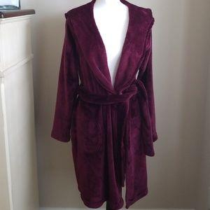 UGG bathrobe in burgundy